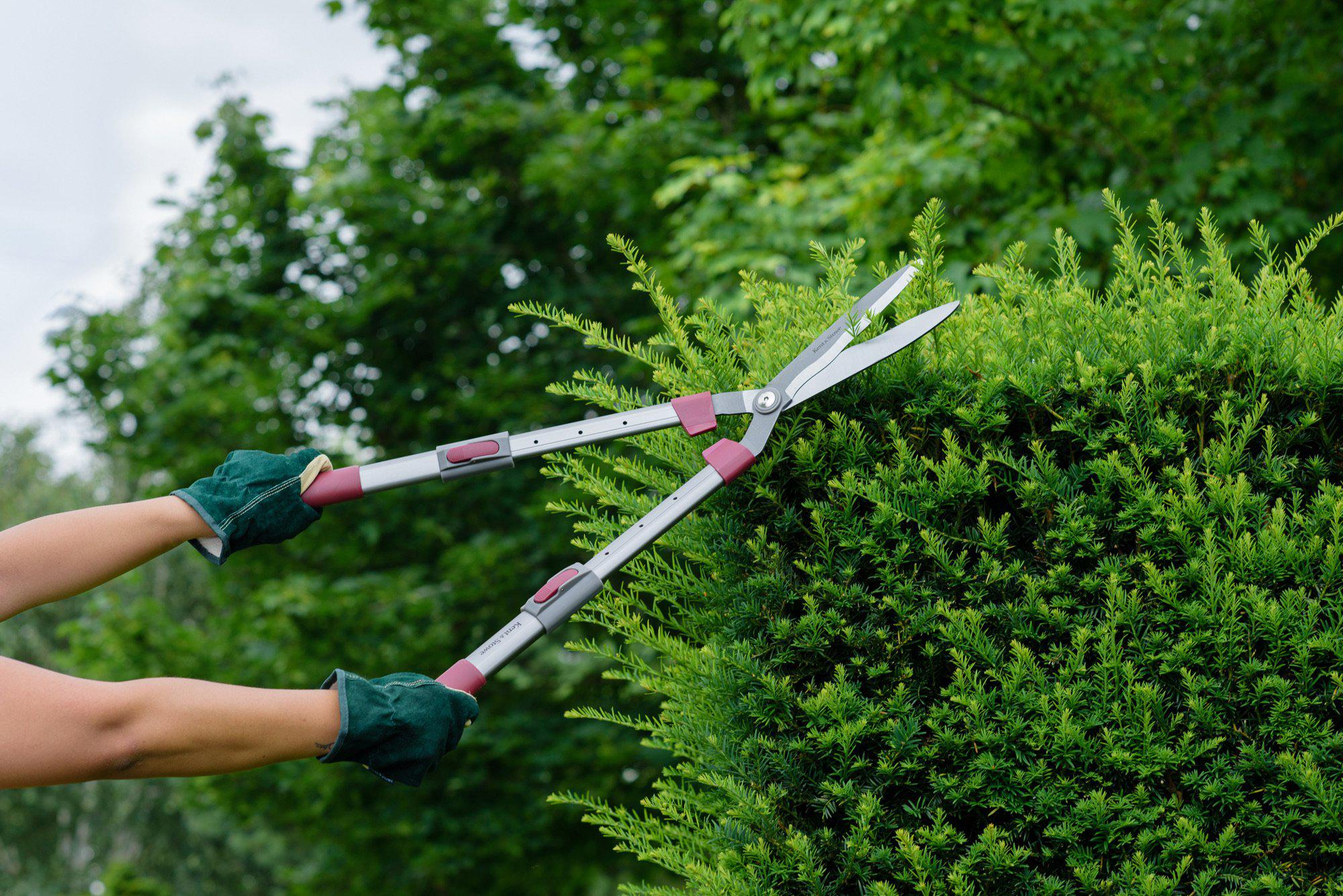 Kent and Stowe Telescopic Hedge Shears