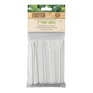 "Gardeners Mate 5"" Plant Labels"