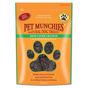 Pet Munchies Beef Liver Crunch 90g