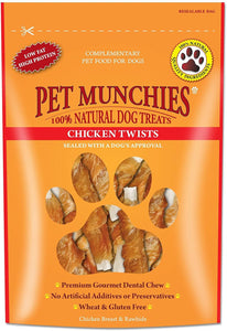Pet Munchies Chicken Twists 290g