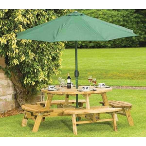 Atholl 8 Seater Round Picnic Table