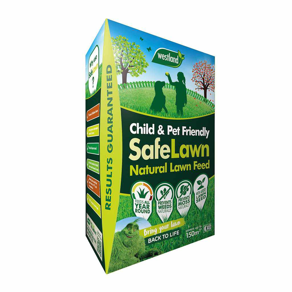 SafeLawn Natural Lawn Feed 150m