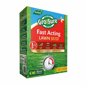 Fast Acting Lawn Seed 30m