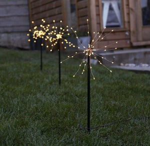 Firework Stake Solar Light