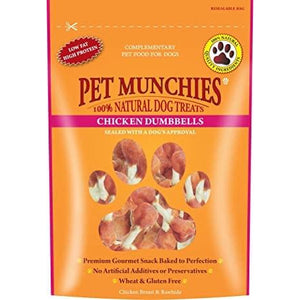 Pet Munchies Chicken Dumbells 90g