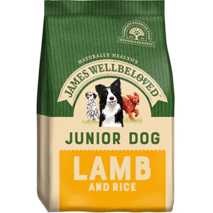 James Wellbeloved Lamb Junior (various sizes)