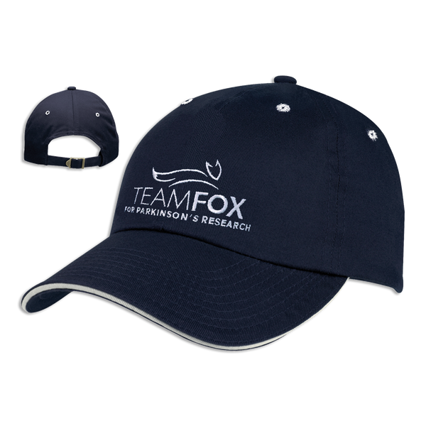 Team Fox Baseball Cap - Navy