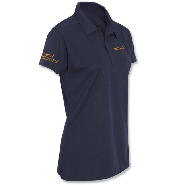 MJFF Ladies Polo - Navy