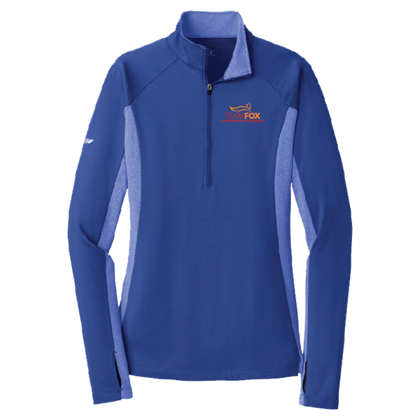 Team Fox ½ Zip Sport Pullover - Women's