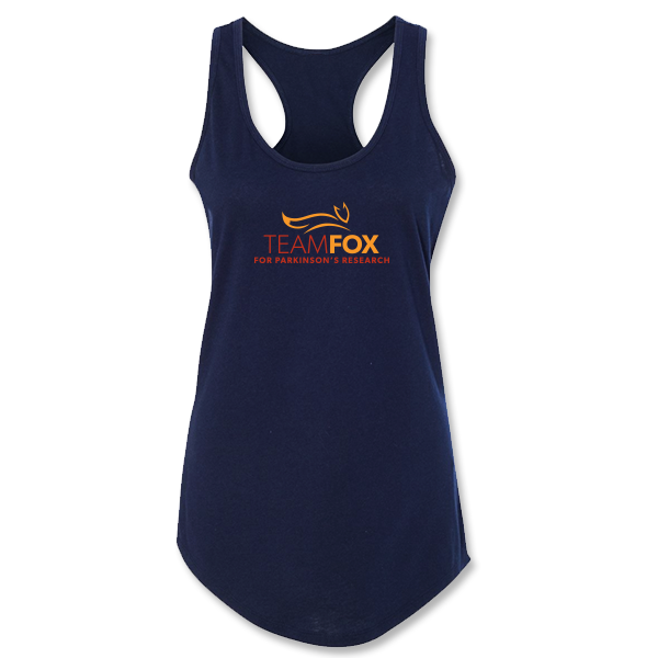 Team Fox Logo Ladies Racerback Tank