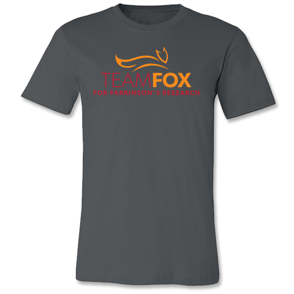 Team Fox Logo Tee - Charcoal