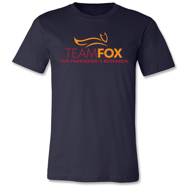 Team Fox Logo Tee - Navy