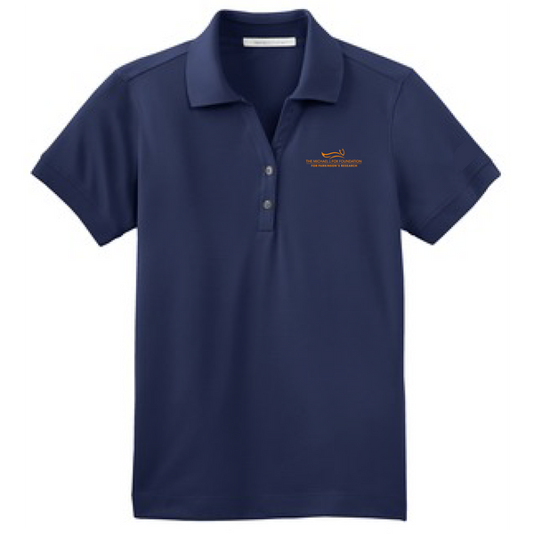 NEW MJFF Men's Polo - Navy
