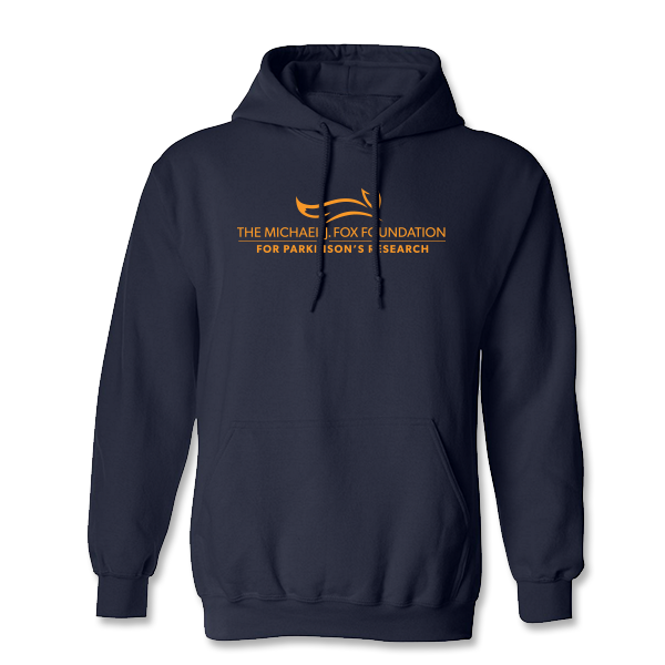 Michael J. Fox Foundation Hooded Sweatshirt - Navy