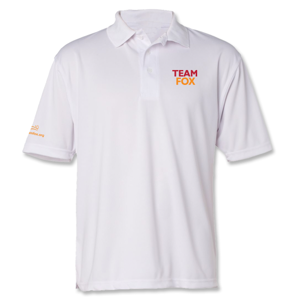 Team Fox Men's Polo - White