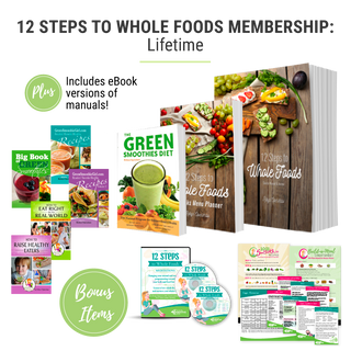 12 Steps to Whole Foods Membership - Lifetime - Plus Bonus Package! SPU