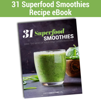 31 Day Superfood Smoothies eBook Image