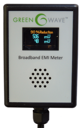 Broadband EMI Meter (Dirty Electricity Meter)