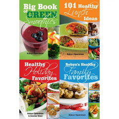 Four Recipe Books Discount Package