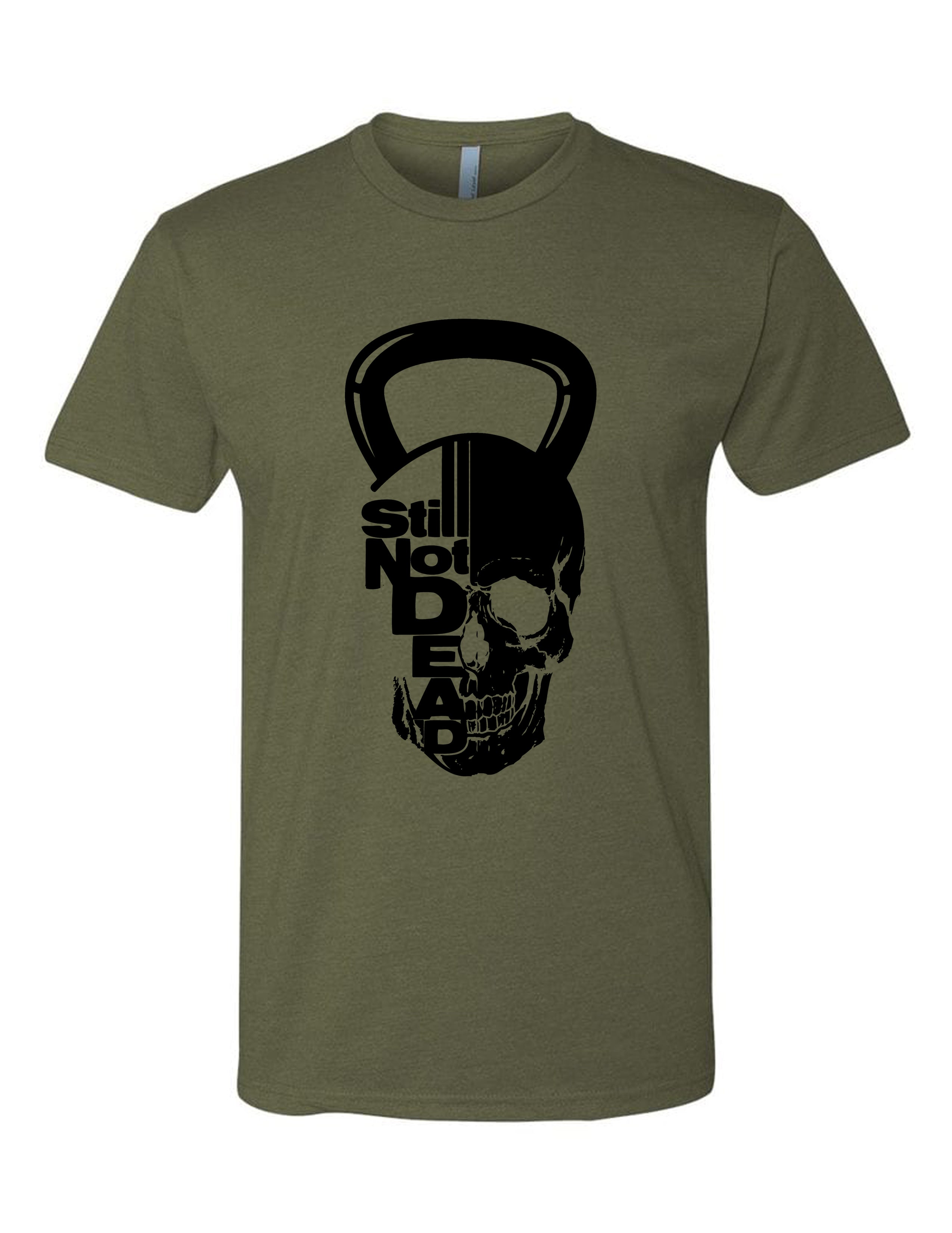 Kettlebell Frank Men's Tee - Still Not Dead Apparel
