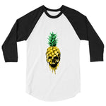 Pinapple Skull 3/4 Sleeve - Still Not Dead Apparel