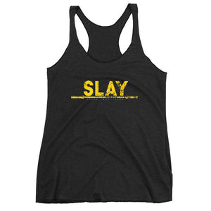 Slay Gold Foil Tank - Still Not Dead Apparel