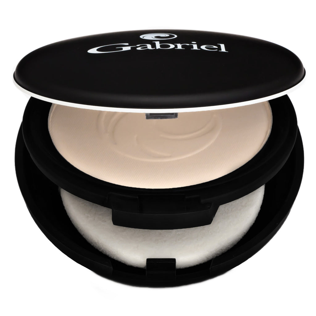 Gabriel Dual Powder Foundation Extra Light Beige - Pale to Ivory Skin - Cool Neutral Undertones 9 g