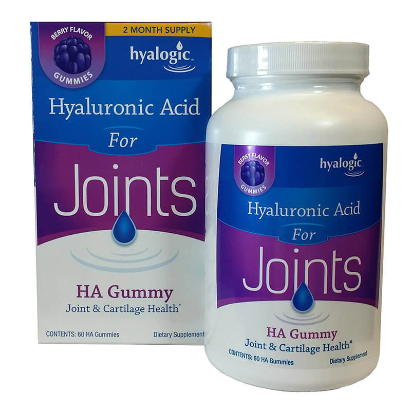 Hyalogic Hyaluronic Acid for Joints 60 MG Gummies