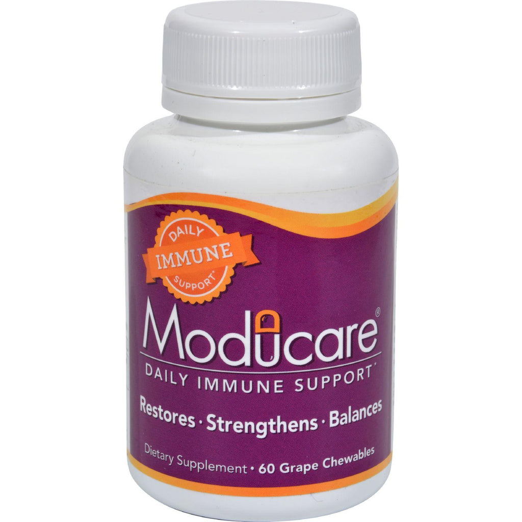 Moducare Immune System Support Grape - 60 Chewable Tablets