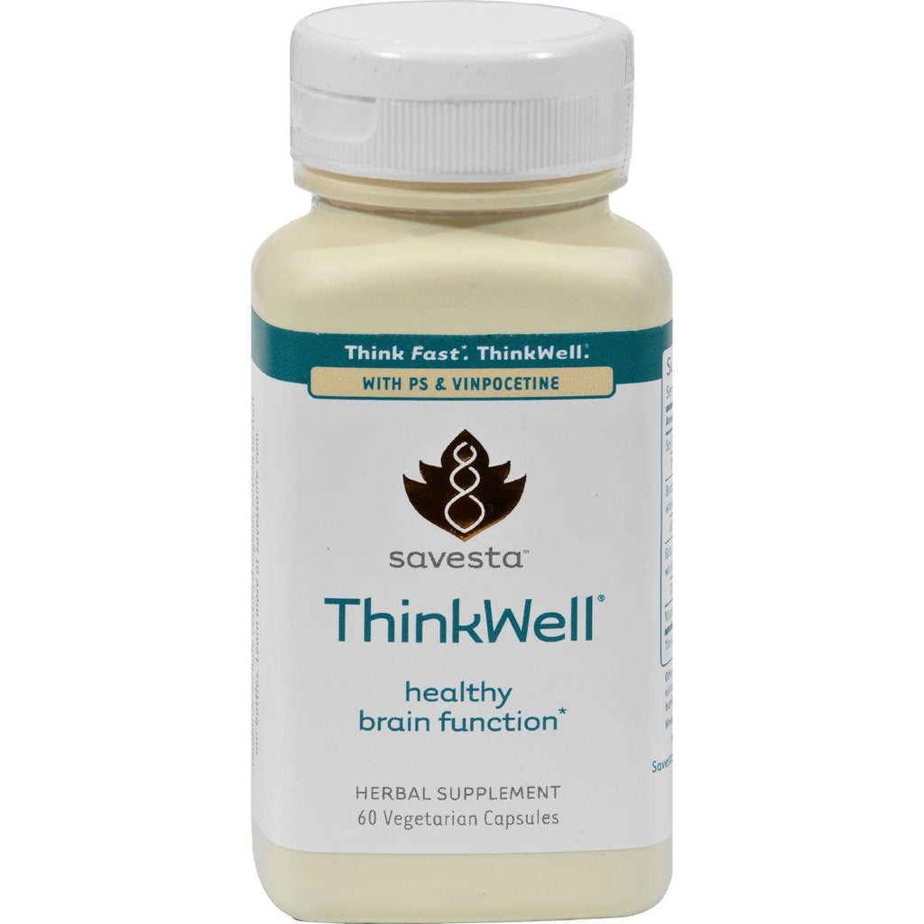 Savesta Thinkwell - 60 Vegetarian Capsules