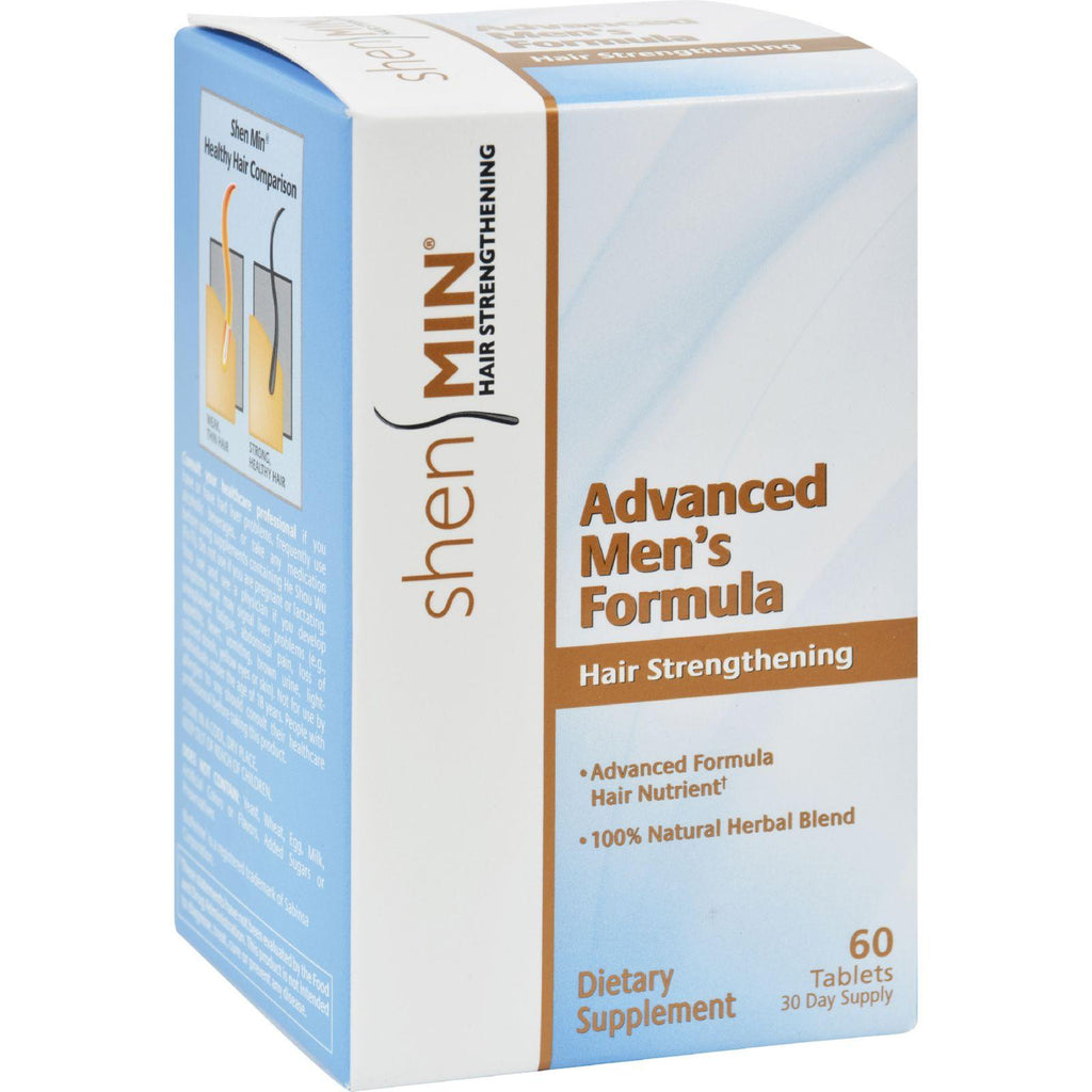 Shen Min Hair Nutrient Advanced Men's Formula - 60 Tablets