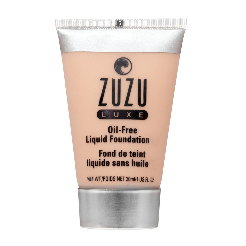 Zuzu Luxe Oil Free Liquid Foundation - L-11 - Light to Medium Skin - Neutral