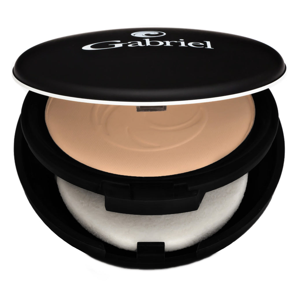 Gabriel Dual Powder Foundation Medium Beige - Medium to Tan Skin - Warm 9 g