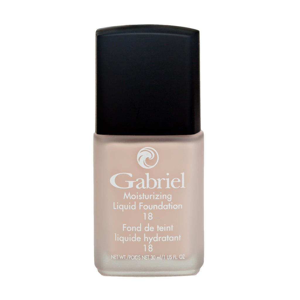 Gabriel Moisturizing Liquid Foundation Soft Beige - Light to Medium Skin - Cool Pink Undertones - 30mL