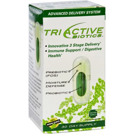 Essential Source TriActive Biotics 30 Vegetarian Capsules