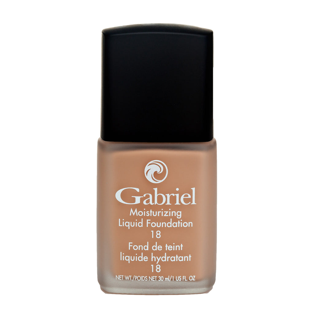 Gabriel Moisturizing Liquid Foundation True Beige - Medium Skin - Warm - 30mL