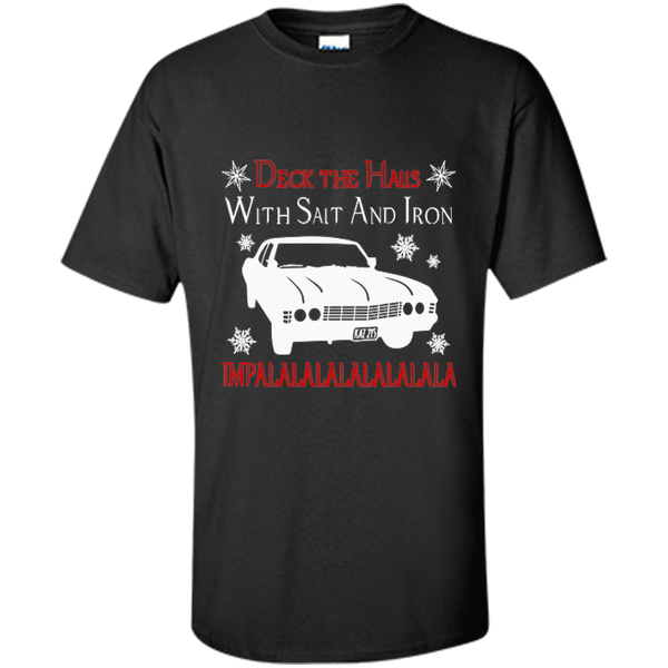 deck the halls with salt and iron Supernatural Salt and Iron Supernatural Shirt