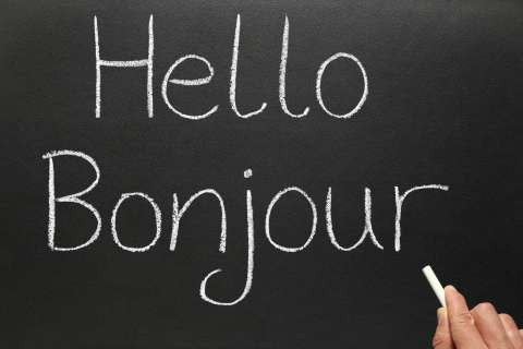 Hello Bonjour - best way to learn french