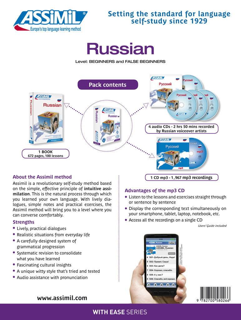 Learn Russian - Perfect for Beginners