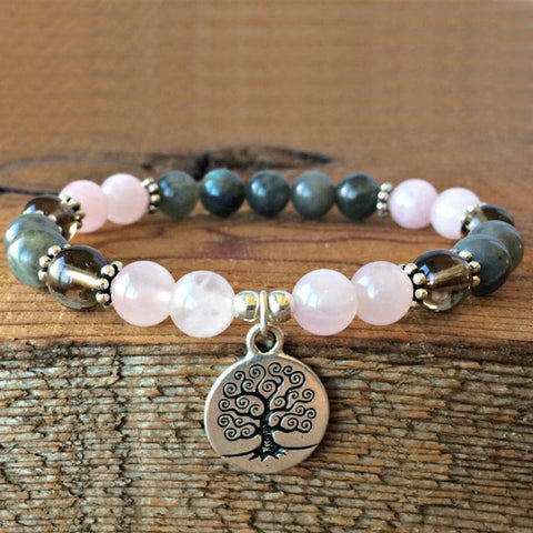 Bracelet Metamorphosis Tree Of Life Bracelet bead amethyst Third Eye Transcend amazonite mala meditation stone crysal reiki crystal healing bracelet necklace yoga bracelet yoga beads