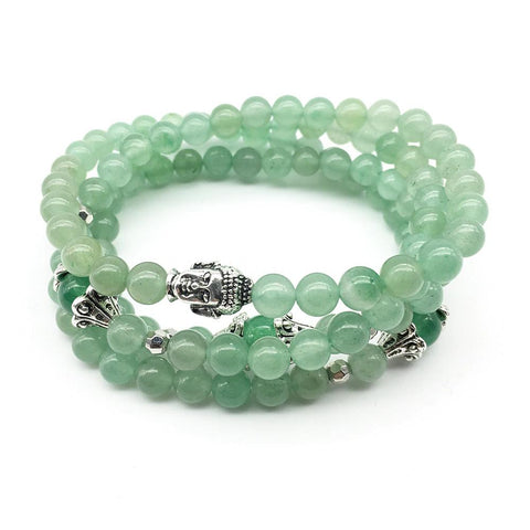 Bracelet New Arrivals Bundle bead amethyst Third Eye Transcend amazonite mala meditation stone crysal reiki crystal healing bracelet necklace yoga bracelet yoga beads