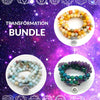 Image of Bracelet Transformation Bundle bead amethyst Third Eye Transcend amazonite mala meditation stone crysal reiki crystal healing bracelet necklace yoga bracelet yoga beads