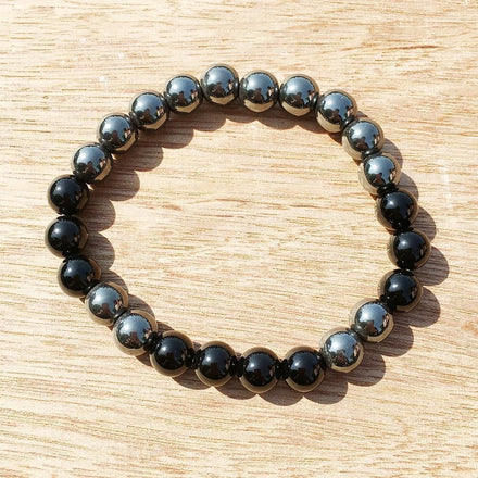 Courage Hematite Bracelet Third Eye Transcend
