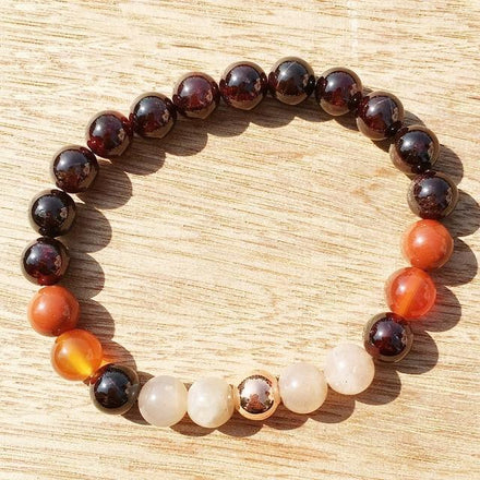 Fertility Garnet Bracelet Third Eye Transcend