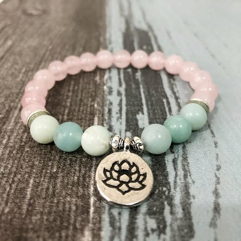 Jewelry Lotus Inner Peace & Love Bracelets Third Eye Transcend