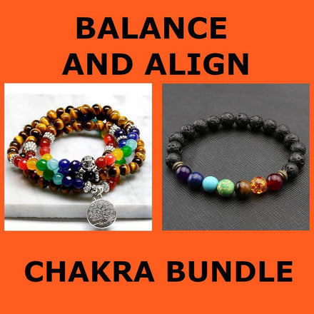 Mala Balance and Align Chakra Bundle Third Eye Transcend