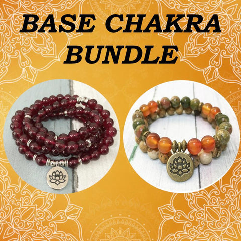 Mala Base Chakra Bundle Third Eye Transcend