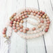 Image of Mala Bracelet Blossom Natural Stone Mala Third Eye Transcend