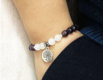 Mala Crown Chakra Bundle Third Eye Transcend