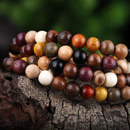 Mala Natural Sandalwood Mix Mala bead amethyst Third Eye Transcend amazonite mala meditation stone crysal reiki crystal healing bracelet necklace yoga bracelet yoga beads